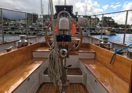Looking stern on the Trevassa