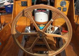 The wheel on the Trevassa