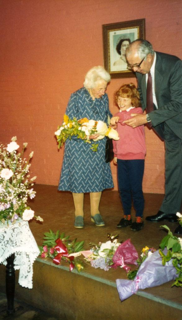 Dorothea Henslowe, Jane McArthur & George Brown
