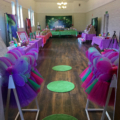 Child's birthday party at hall