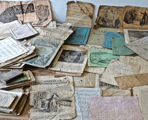 The cache of documents