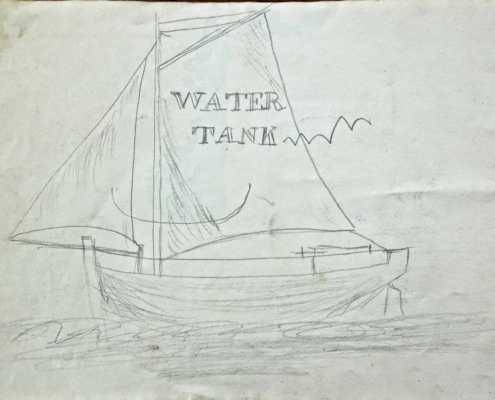 From Esther Evans' sketch book