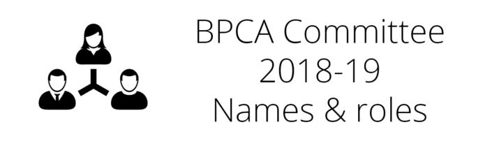 BPCA Committee 2018-19