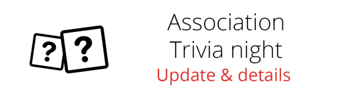 Association Trivia Night Update