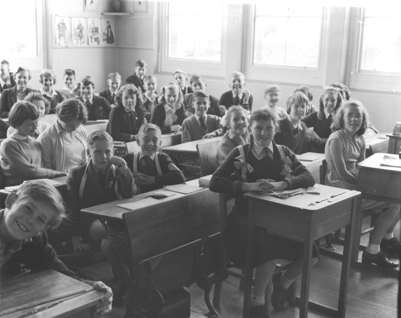 Albuera Street School Grade 6 1958