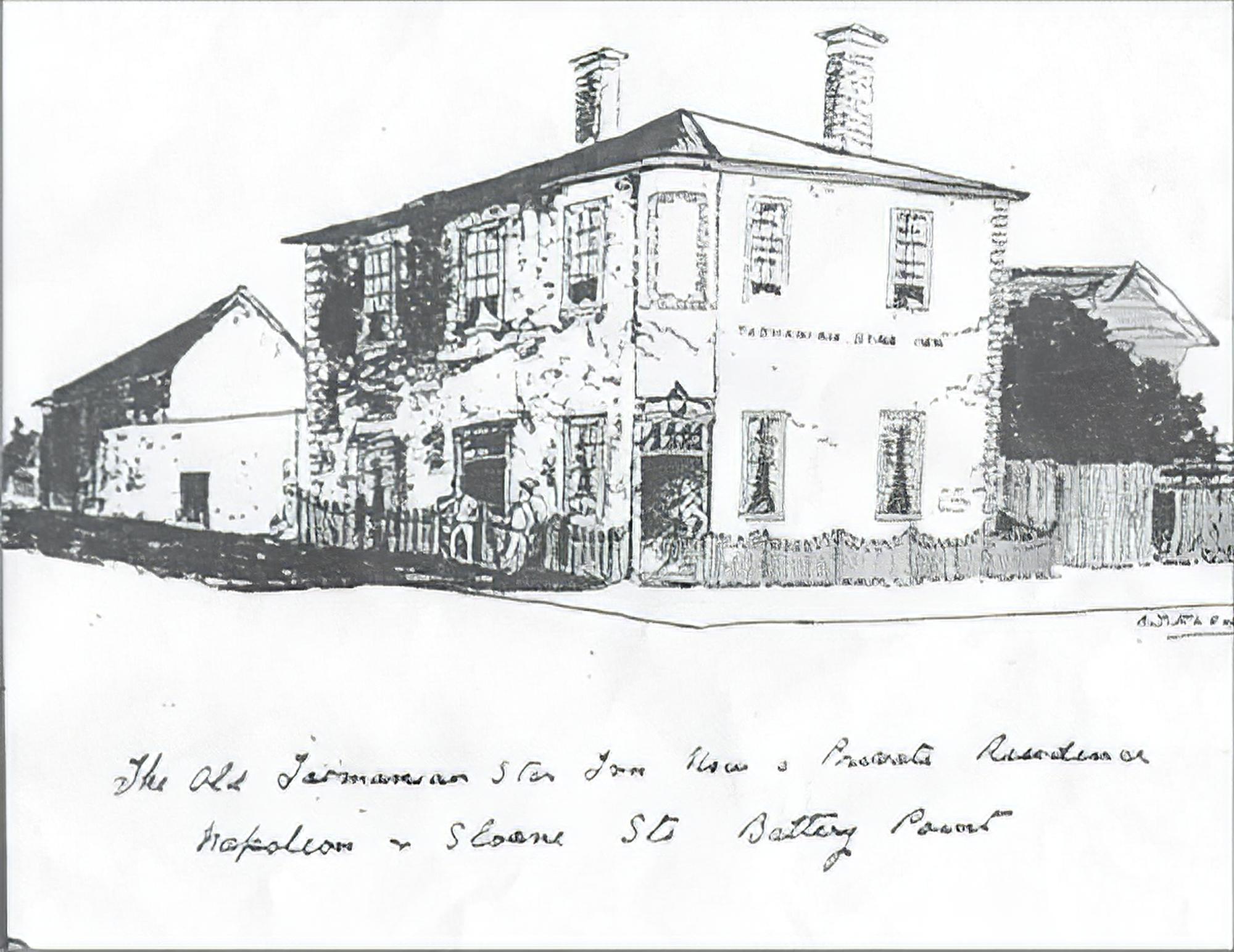 Sketch by A.T. Fleury
