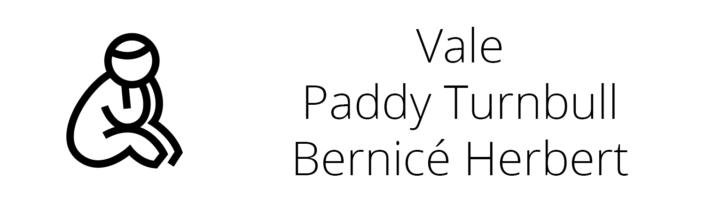 Vale Paddy Turnbull Bernicé Herbert