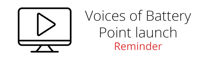 Voices Launch Reminder