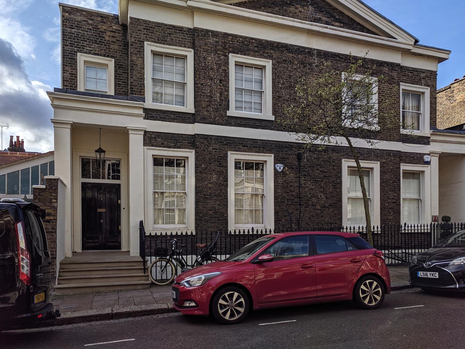 James Blackburn's House
