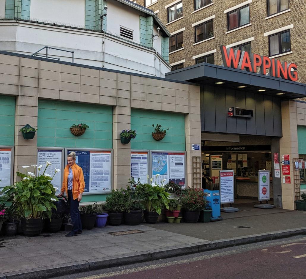 Lockdown in Wapping