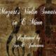 Mozart Sonata in E Minor