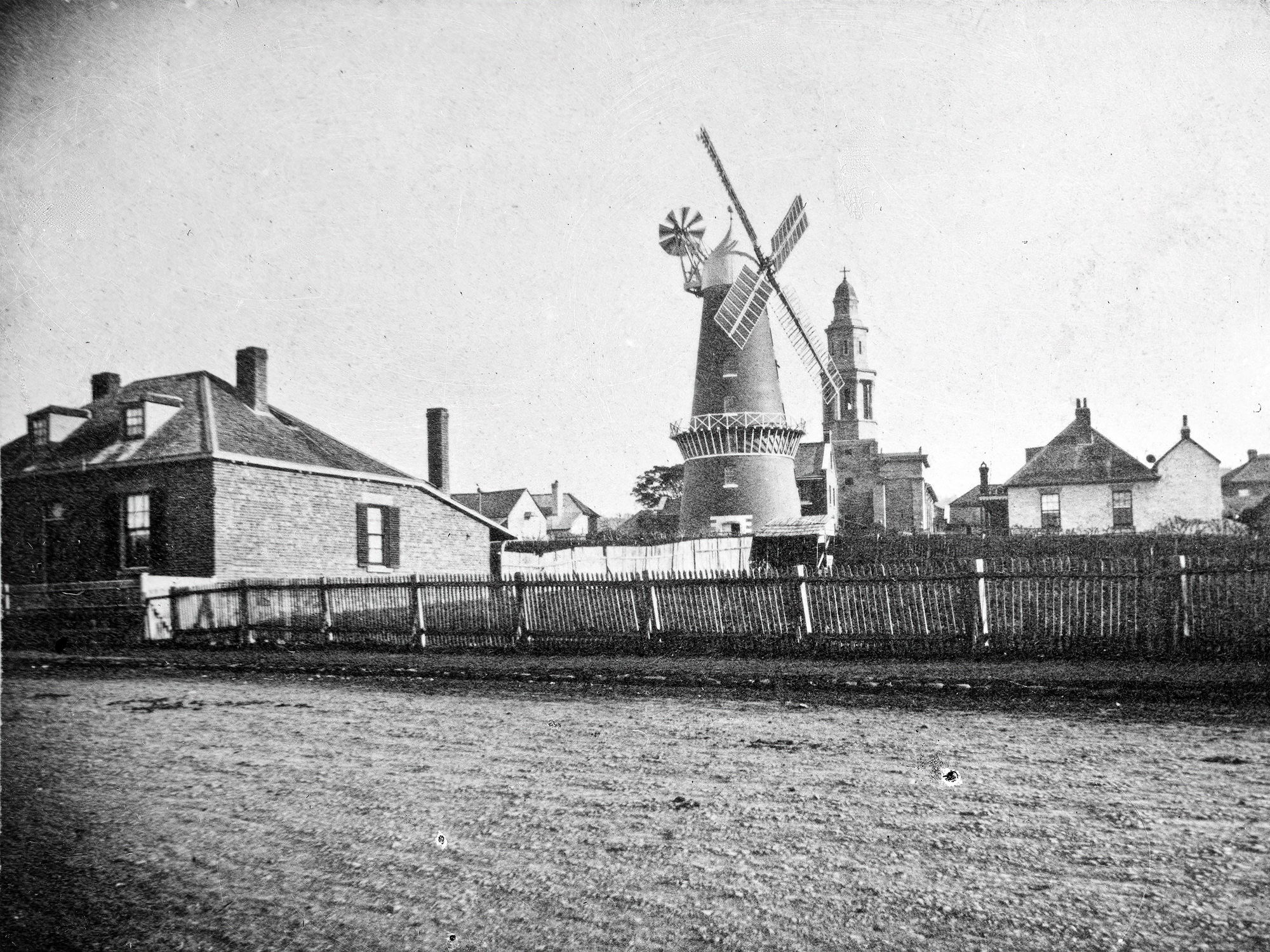 1860 Windmill from Wellington Crescent