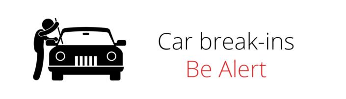 Car Break-ins Alert