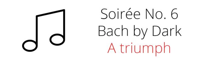 Concert Series 6 A triumph