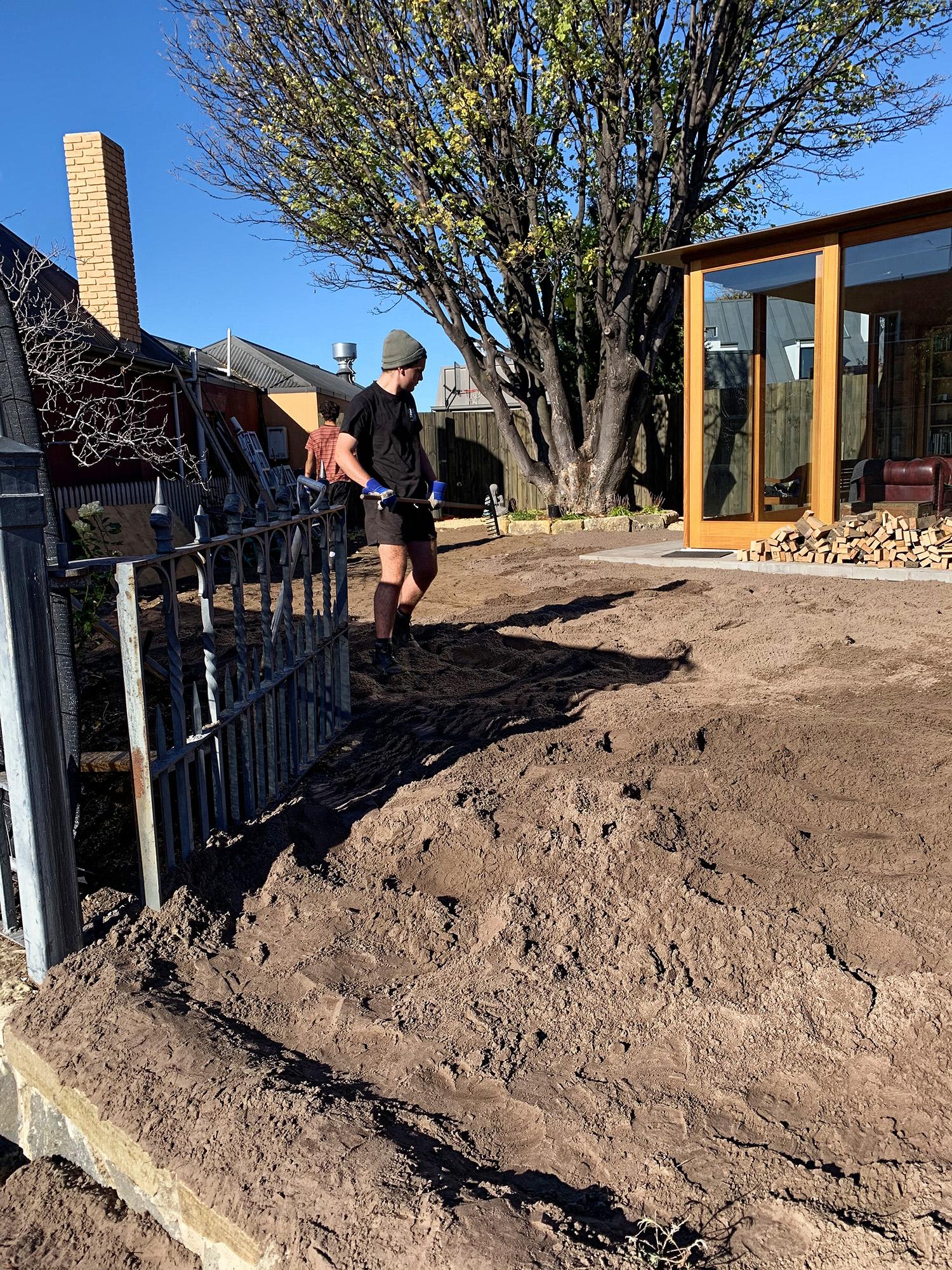 Fusilier Cottage gardening
