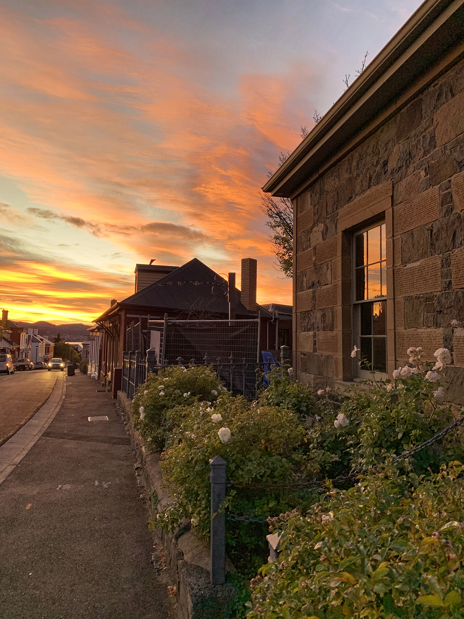 Fusilier Cottage sunrise