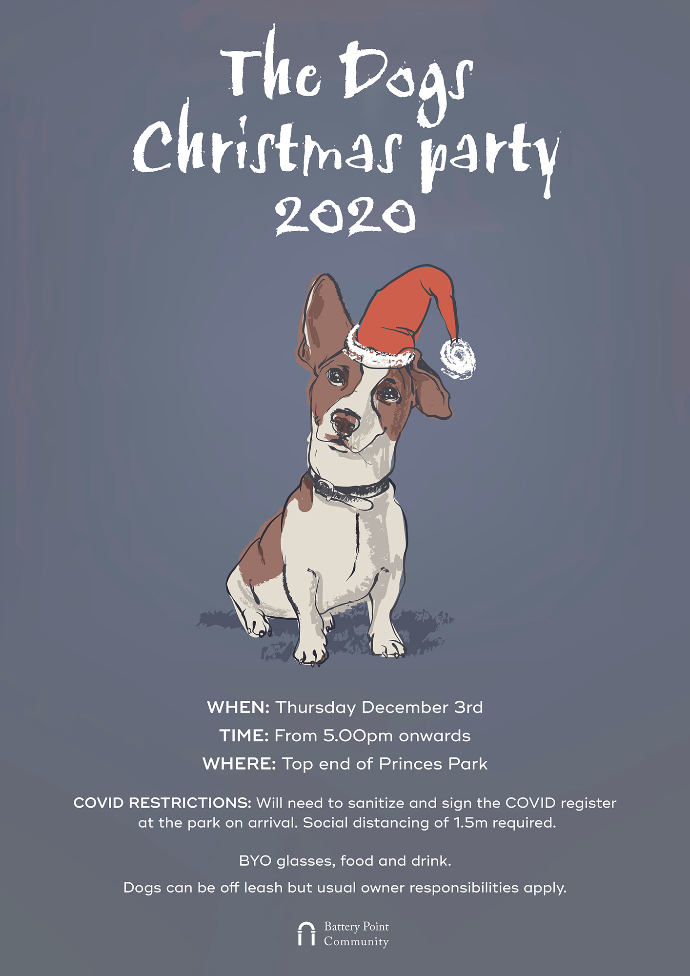 Dogs' Christmas Party 2020 Poster