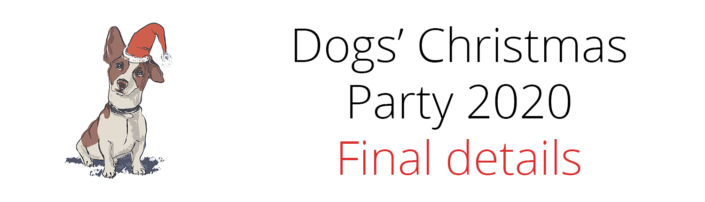 Dogs' Christmas Party 2020 Details