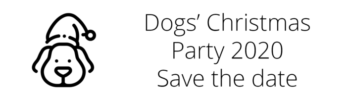 Dogs' Christmas Party 2020 Save Date