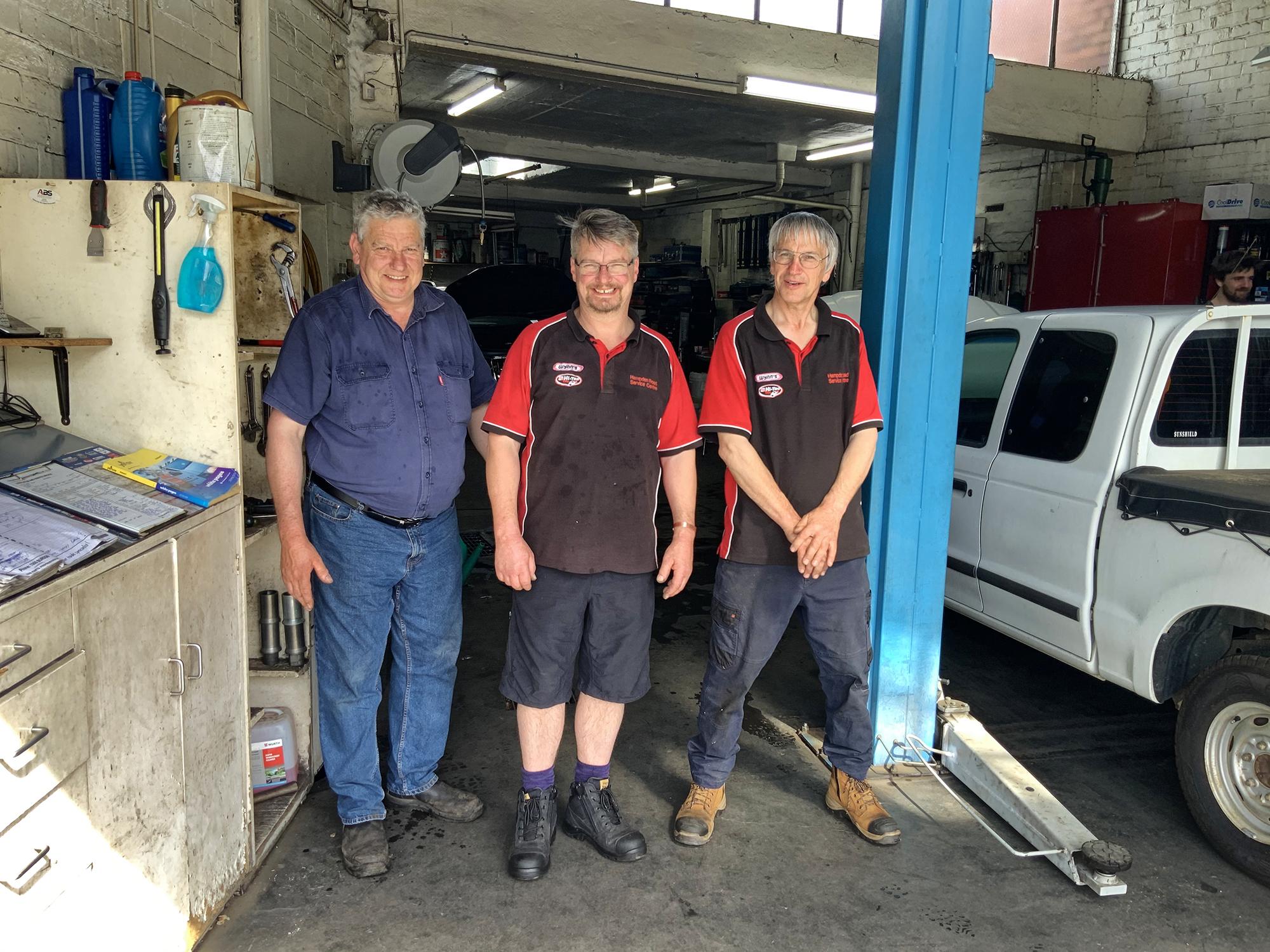 Simon, Gary & Peter Muller