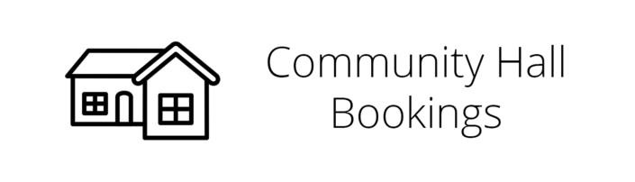 Community Hall Bookings