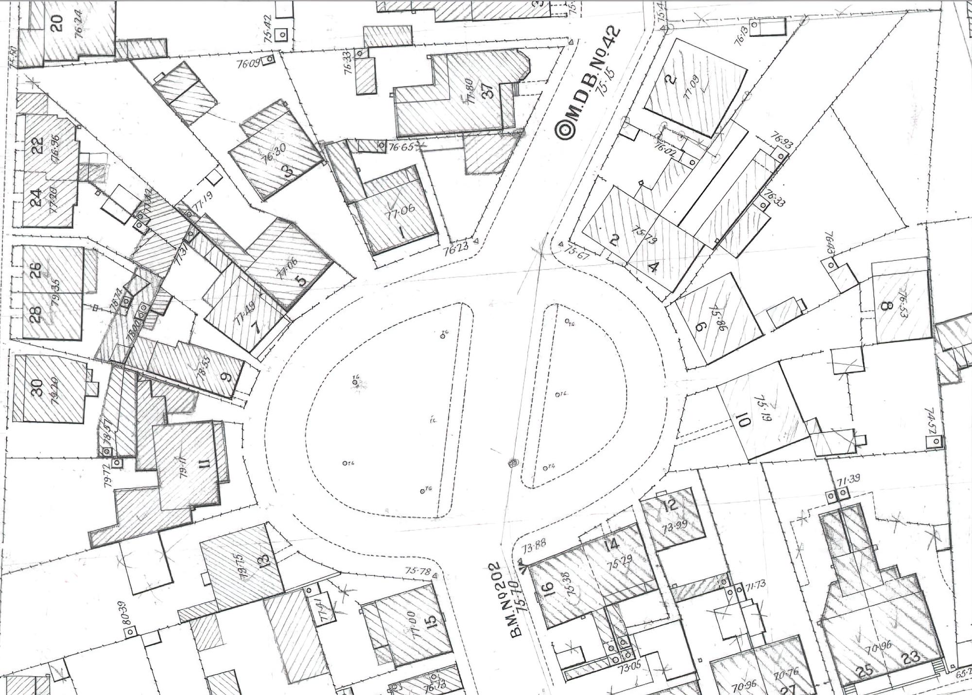 Arthur Circus Plan 1908