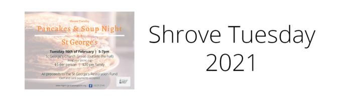 Shrove Tuesday 2021