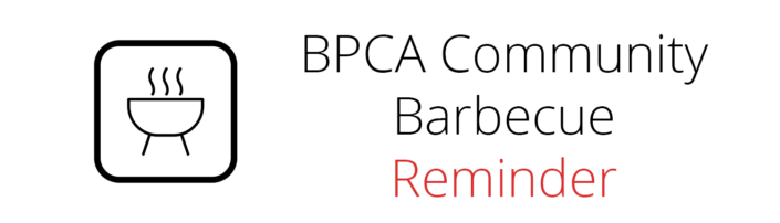 Community Barbecue Reminder