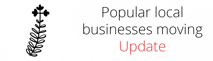 Popular Businesses Moving Update