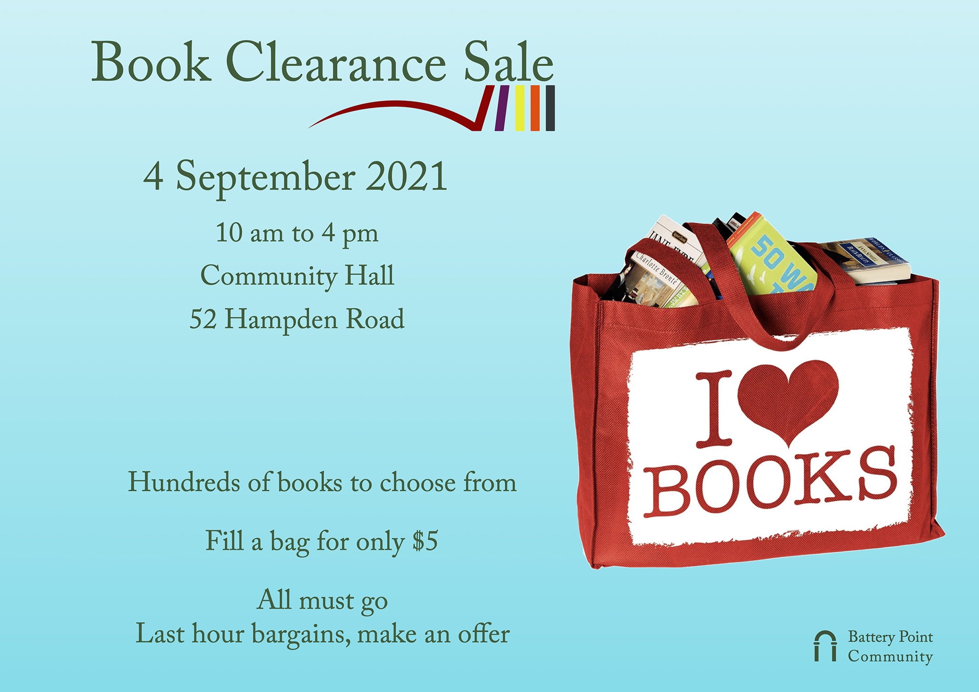 Book Clearance Poster