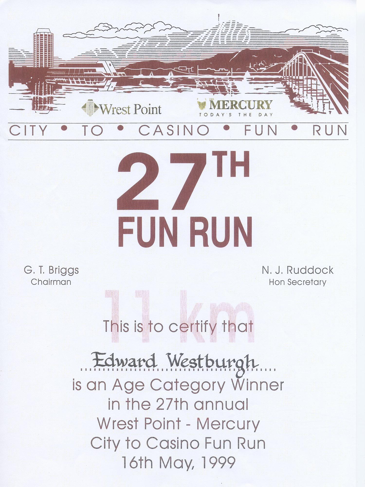 City to Casino 1999