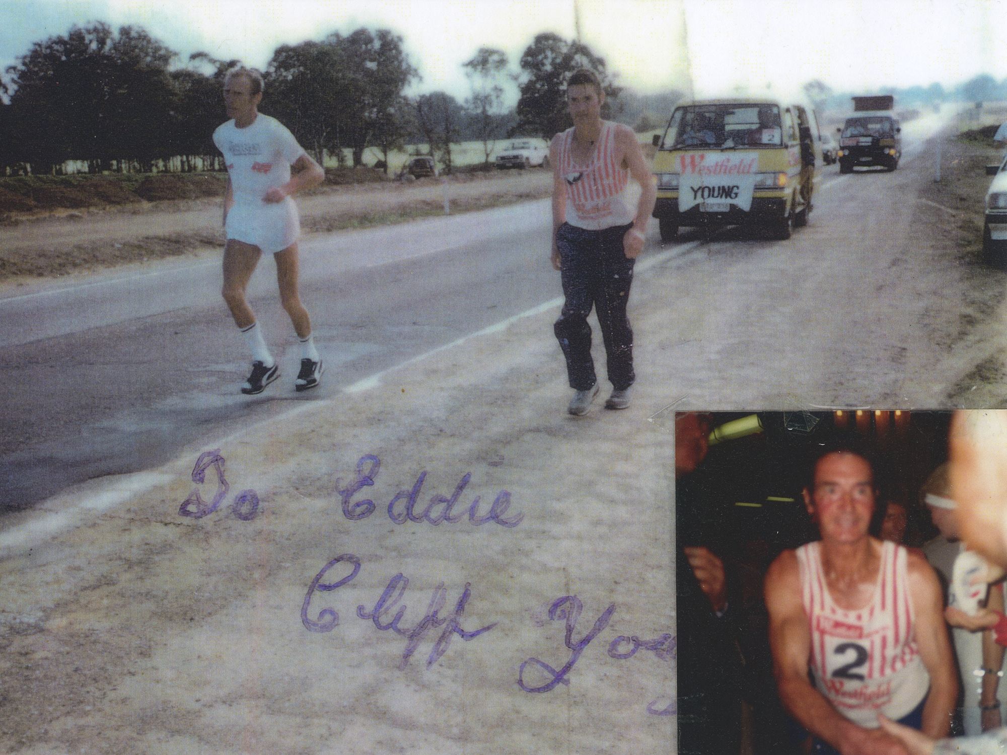 Eddie and Cliff Young